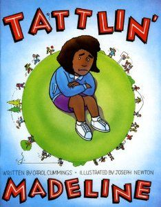 A book designed to teach young children the difference between tattling and reporting. Written in rhyme to read aloud or for guided reading, providing repeated word patterns and predictable text. One of a series of eight social skill books written by Dr. Carol Cummings.