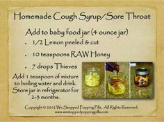 Cough/ sore throat  www.youngliving.org/heathervargas