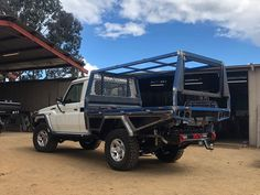 Specialising in customised trays and dog boxes as well as other metal fabrication and engineering. Mild stainless and aluminium No job too big or small Truck Bed Slide, Truck Bed Camper, Pickup Camper, Ute Camping, Truck Camping, Ford Trucks, Pickup Trucks, Custom Ute Trays, Landcruiser Ute