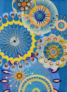 Référent n°1- Complémentarité [Lesson 6: split complementary-ish palette] Rex Ray blue gold