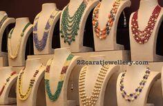 Multi Beads Sets by Musaddilal Jewellers