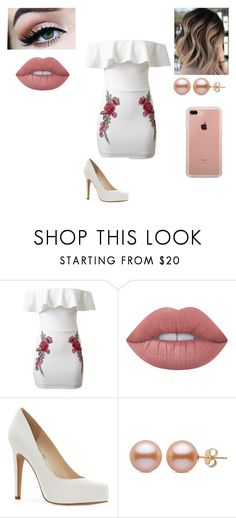 """I'm Tired"" by tinyalyson on Polyvore featuring WithChic, Lime Crime, Jessica Simpson and Belkin"