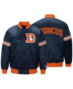 G-III Sports Men s Denver Broncos Draft Pick Starter Satin Jacket Men -  Sports Fan Shop By Lids - Macy s 8a3aa6d34