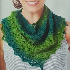A small shawlette which is worked sideways into a asymmetrical triangular shape. Perfect for knitters new to lace and shawls or a quick knit for experienced lace/shawl knitters.