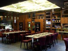 Restaurante hotel SB Plaza Europa.  Decoración Alado