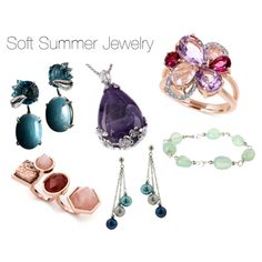 Soft Summer Jewelry by catelinden