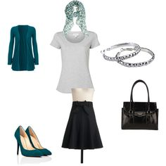 """""""office outfit"""" created by mdeneufchatel"""