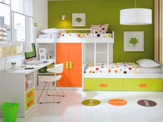 Offset Bunk Beds funky bunk | kids staggered bunk beds | funky space saving