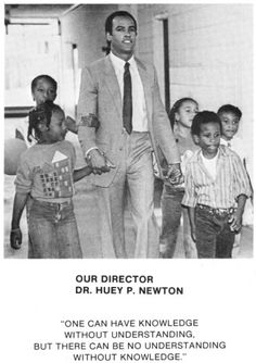 Huey Newton was devoted to the children and the Panther programs that served the Oakland Community Schools and local black community. The movement was a social program originally designed to help the less fortunate people in low income communities. Black Panther Party, Black History Facts, Black History Month, Black Panthers Movement, Black Leaders, Vintage Black Glamour, Power To The People, African American History, American Women