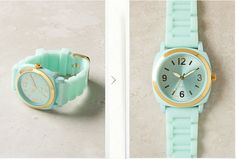 This Watch | 37 Ways To Treat Yourself With Tiffany Blue