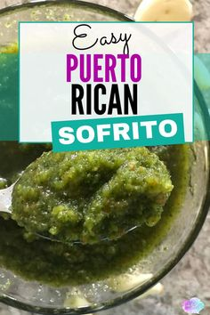 Puerto Rican Sofrito - Sofrito recipe puerto ricanThe secret to any successful Puerto Rican dish is having the perfect sofrito recipe. Puerto Rican sofrito is a mixture of peppers, onions, garlic and cilantro, and the base ingredient in almost every Puerto Rican Sofrito, Puerto Rican Dishes, Puerto Rican Cuisine, Puerto Rican Recipes, Mexican Food Recipes, Pasteles Puerto Rico Recipe, Puerto Rican Salsa Recipe, Rice And Beans Recipe Puerto Rican, Gastronomia