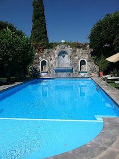 Swimming pool at the Hacienda