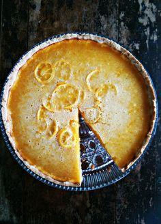 meyer lemon honey tart with salted shortbread crust more lemon honey ...