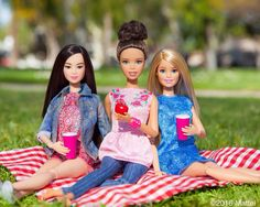 Here's to the weekend! Tell us what exciting adventures are in store for you and your friends. Shop the dolls via the link in our bio!