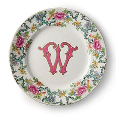 Christmas Gifts for Her: Monogrammed Plates < Christmas Gifts for Her - Southern Living
