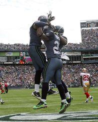 Seahawks Touchdown