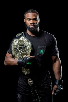 Tyron Woodley | Monster Energy's Conor McGregor, Tyron Woodley, Chris Weidman and ...