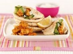 Minted #Quorn Tikka Pittas Quorn Recipes, Veg Recipes, Indian Food Recipes, Vegetarian Recipes, Ethnic Recipes, Just Eat It, Healthy Lifestyle, Mint, Dishes