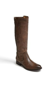 Wide calf boots!! Just what I need!!  Frye 'Melissa Scrunch' Boot available at #Nordstrom