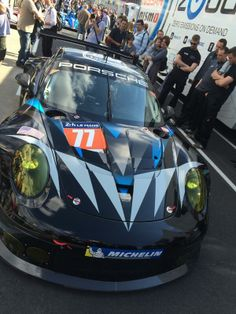 Dempsey Racing car for LeMans 2014...she's looking badass!!! (Picture courtesy of Joe)