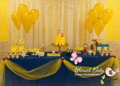 E a princesa Maria Eduarda comemorou seus 5 aninhos com os amigos na escolaaa...   Festa linda cheia de encantos da Bela e a Fera...     Co...