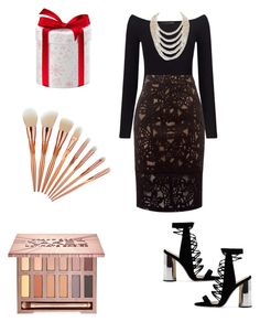 """""""Simple black"""" by nataliya-mostriansky on Polyvore featuring Urban Decay, Miss Selfridge and DaVonna"""
