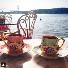 Turkish Coffee & Istanbul #Turkishcoffee