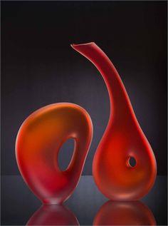 Melange Art Glass Sculpture