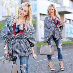 Eleonora P. - Wear a scarf as a jacket