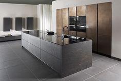 Designer Kitchen Metal & Stone