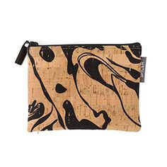 Mini Pouch in Black Ink Cork * Read more at the image link. #Handmadehandbags