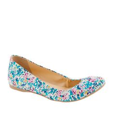 Crew for the Collection Cece Liberty floral ballet flats for Women. Find the best selection of Women Clothing available in-stores and online. Dress With Boots, Dress Shoes, Women's Shoes, Cute Shoes, Me Too Shoes, Rain Boots, Shoe Boots, Floral Flats, All About Shoes