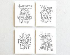 Winnie the Pooh quote prints nursery decor by SimpleSerene on Etsy