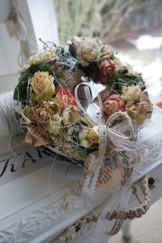 """Kränze - reserviert """"Rosenfrühling...."""" - ein Designerstück von Hoimeliges bei DaWanda"""