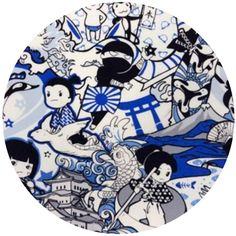 Kawaii from Hawaii, Anime Warriors Blue