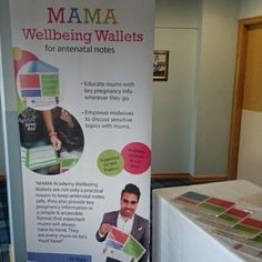 We're so excited to be at #B2SH15 today, showing off our antenatal #WellbeingWallets to the fabulous midwives!