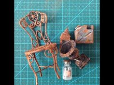 How to make faux rust - YouTube