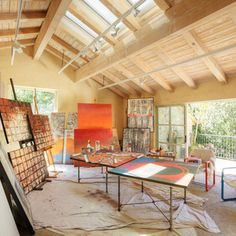 art studio design ideas for small spaces | modern little art and