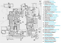 The ground plan of the Minoan Palace of Knossos - Meet Crete Innsbruck, Knossos Palace, Dragon Age Series, Famous Buildings, Minoan, Bronze Age, Crete, Archaeology, Art History