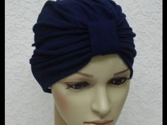 بالفيديو طريقة خياطة توربان turban ( بوني) - خياطة وتفصيل - YouTube