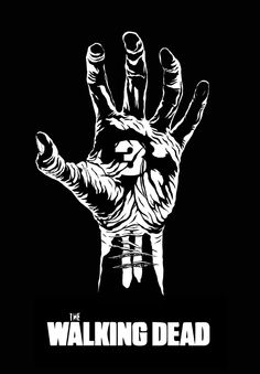 The walking dead black and white prints - Google Search