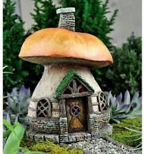 Fairy Mushroom Cottage for Miniature Fairy Garden Faerie/Gnome/ Hobbit/House
