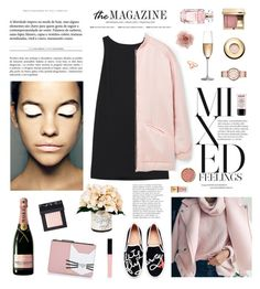 """""""Meow"""" by elena-kov ❤ liked on Polyvore featuring RED Valentino, MANGO, NARS Cosmetics, Karl Lagerfeld, BRONTE, Creative Displays, Butter London, Kate Spade, RogaÅ¡ka and NYX"""