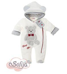Ciepły pajacyk dla dziecka Brysio  www.sofija.com.pl  #sofija #pajacyk #kombinezon #dziecko #ubrania #kidsfashion #baby #babymode #kindermode #kinder #ребенок #мода #vaikas #çocuk