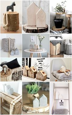 Moodboard hout - naturel #Pintratuin