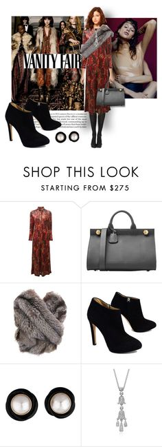 """""""Lookbook no 22"""" by isteely ❤ liked on Polyvore featuring Hahn, Lanvin, Jean-Paul Gaultier, Anya Hindmarch, Vanity Fair, Giuseppe Zanotti and Blue Nile"""