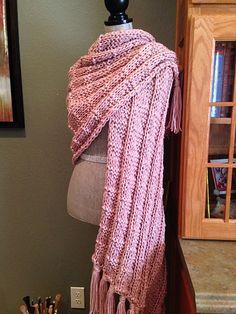 Ravelry: Mock Kilting Stitch Prayer Shawl pattern by Louis Chicquette