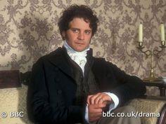 Still of Colin Firth in Pride and Prejudice