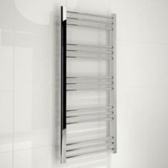 Kudox Timeless Silver Towel Rail (H)1100mm Kudox Timeless Silver Towel Rail (H)1100mm (W)500mm.A great towel warmer not only heats your towels and bathroom but will help to make your bathroom a warm and comfortable place in which to relax. Our http://www.MightGet.com/april-2017-1/kudox-timeless-silver-towel-rail-h-1100mm.asp