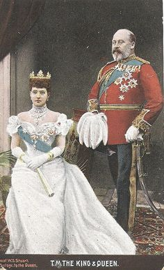 Found in East Yorkshire Queen Victoria Family, Princess Victoria, Emperor Of India, Alexandra Of Denmark, Cultura General, King Edward Vii, Court Dresses, British Monarchy, Save The Queen
